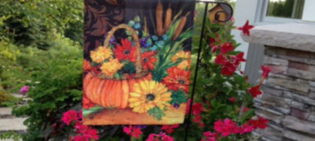 Fall Decorative Garden Flags