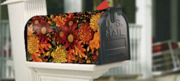 Fall Mailbox Covers
