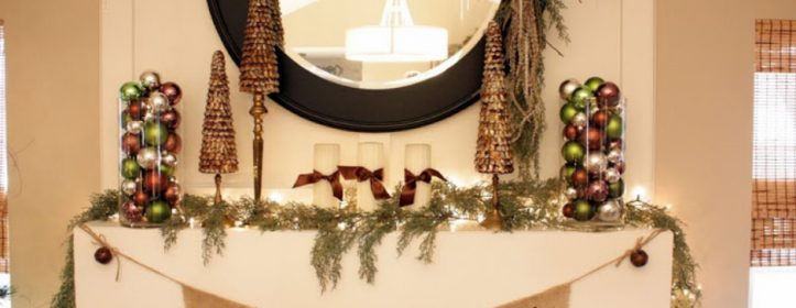 Magical Christmas Mantel Decor Ideas