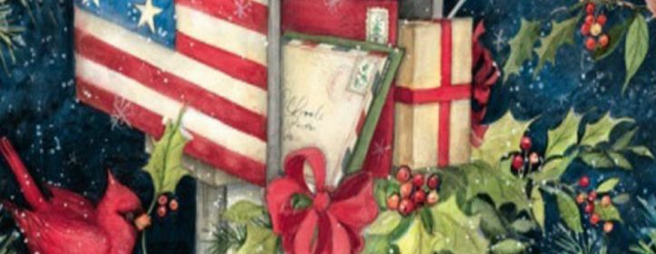 Christmas Decor From Curb to Front Door