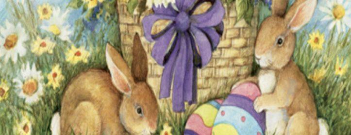 Easter Garden Flags Are Hopping Fun