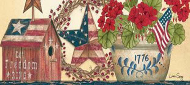 Patriotic Decorative Flags For The 4th Of July