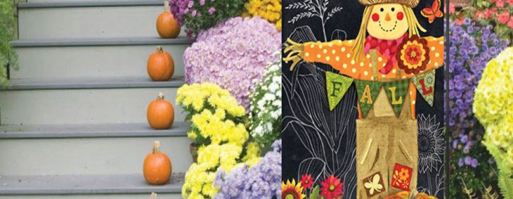 New Fall Garden Flags Just Arrived