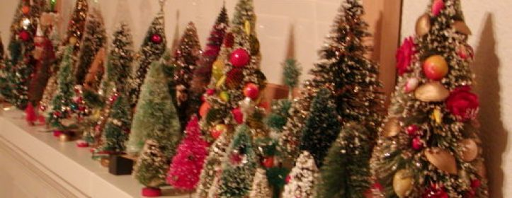 Charming Bottle Brush Trees - Timeless Holiday Decorations