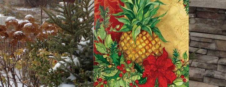 Holiday Garden Flags Feature Vibrant Colors & Charming Themes