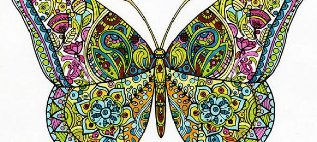 Adult Coloring Pages by Sue Zipkin