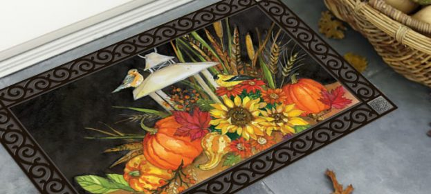 Gorgeous Fall Door Mats For Front Entrance