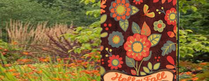 Fall Garden Flags for Outdoor Landscape