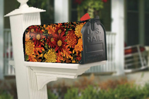 Welcome Fall Mailwraps Mailbox Cover