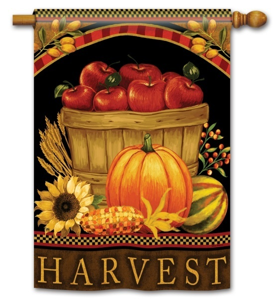 Harvest Fall Flag