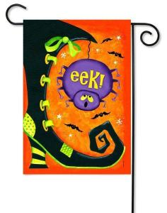 Eek! Halloween Garden Flag