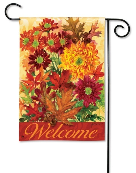 Autumn Bouquet Fall Flag
