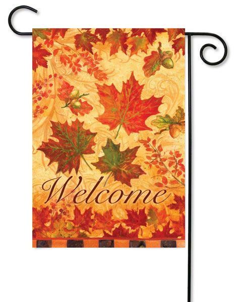 Fall leaves Fall Flag