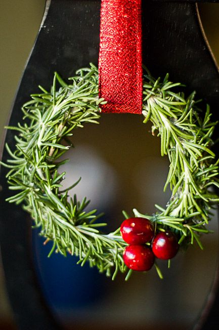 Rosemary Christmas Wreath