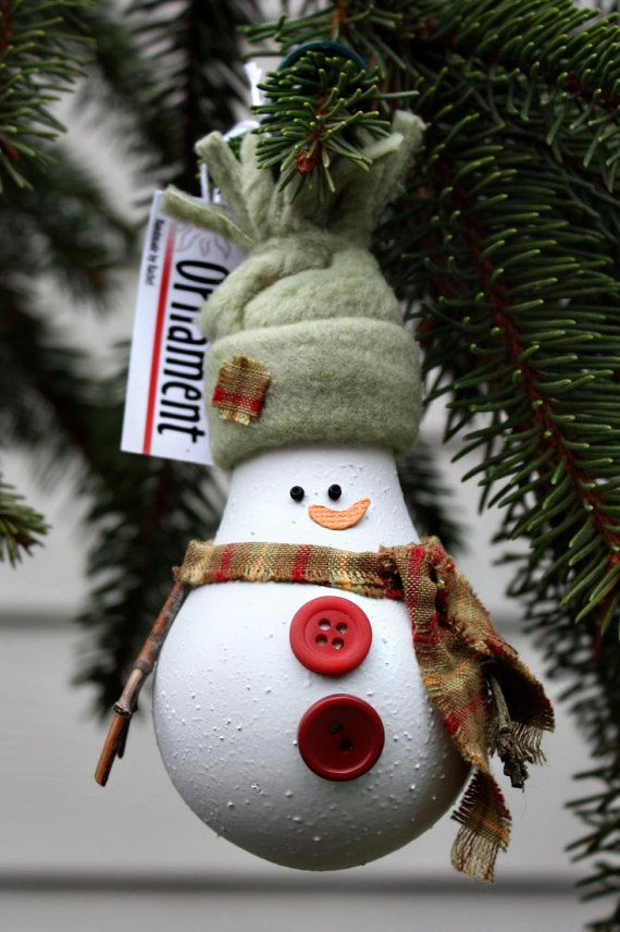 Snowman Christmas Ornament