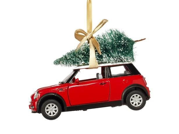 Toy Car Christmas Ornament