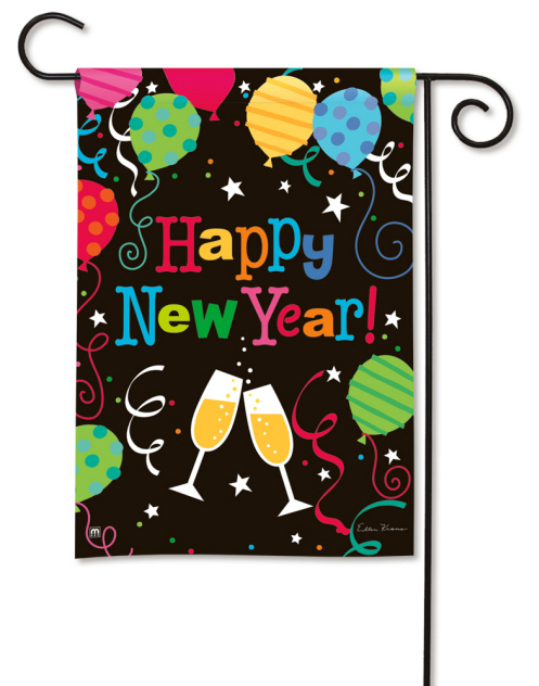 New Year Decorative Flag