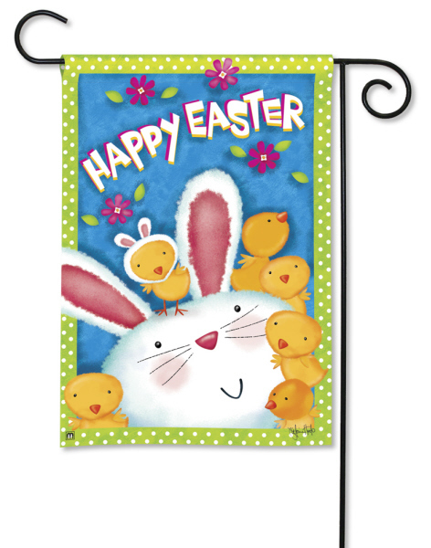 Easter Garden Flags Are Hopping Fun flagsonastickblogcom