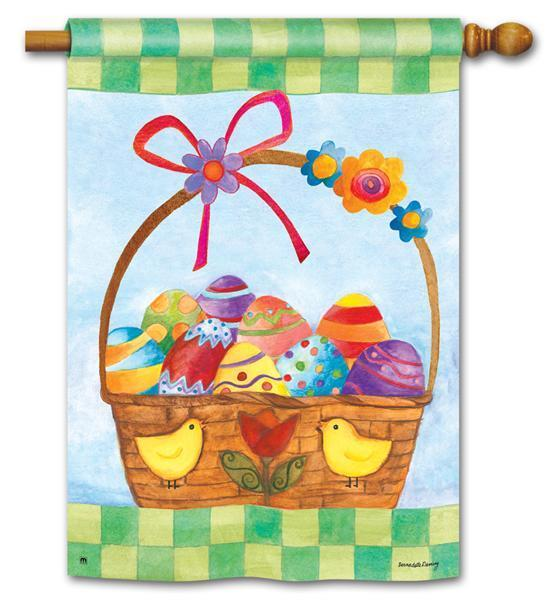 easter house flags