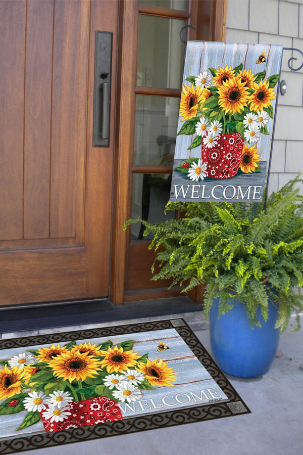 Three Lovely Ways to Display Your Decorative Garden Flags