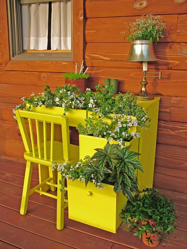 garden desk container