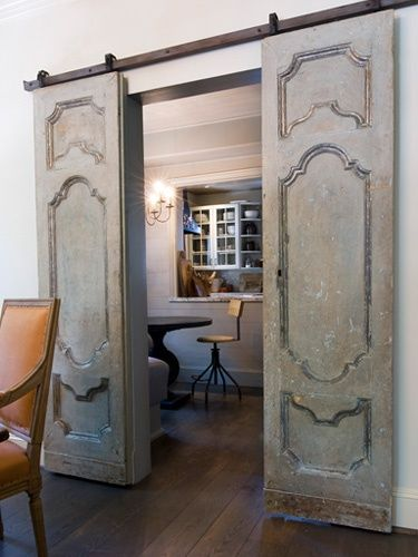 barn doors & Barn Doors Save Space And Look Amazing - flagsonastickblog.com