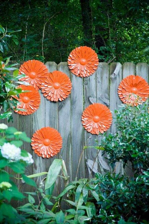 garden fence art