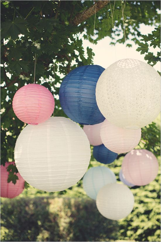 summer lanterns