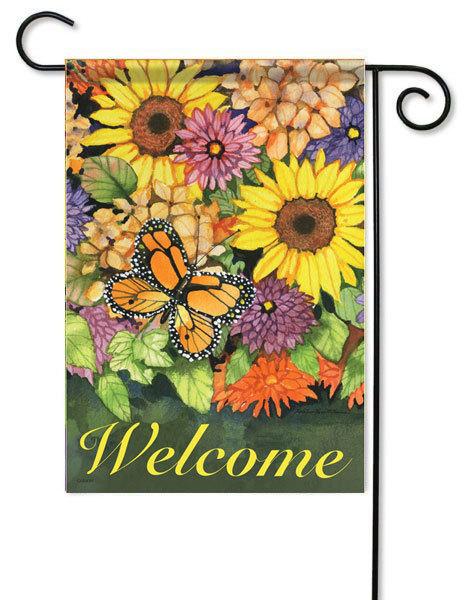Beau Sunflower Garden Flags