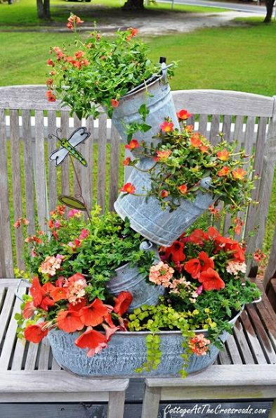 curb appeal with container gardening
