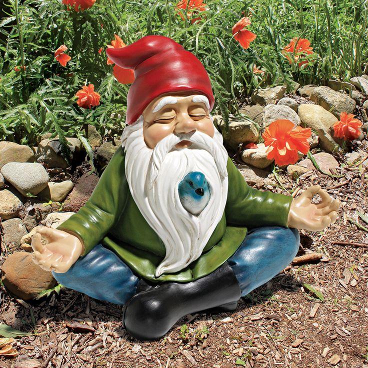 garden gnomes for your zen garden