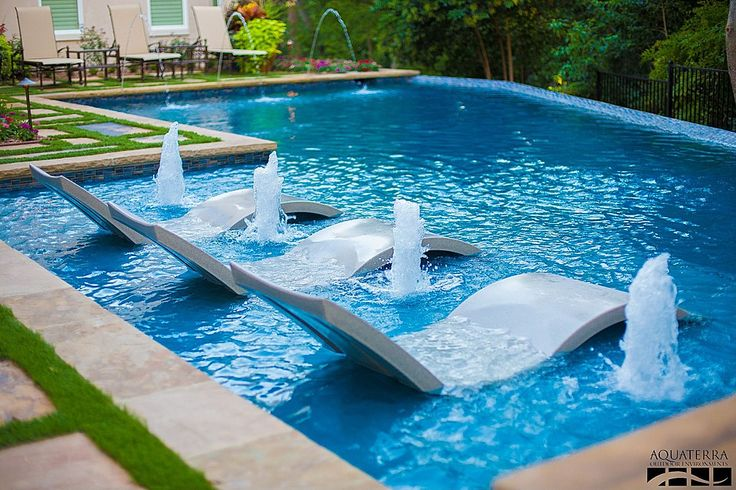 swimming pools to cool off in
