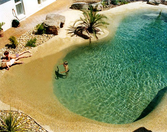beach swimming pools