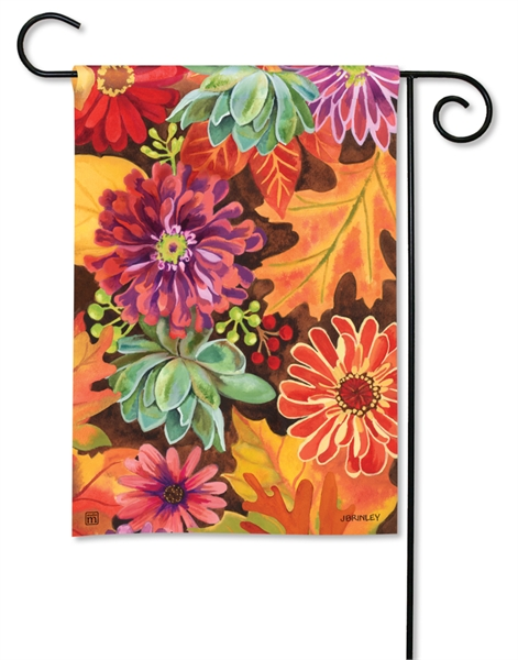 Autumn Jazz Garden Flag