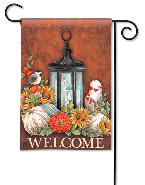 Autumn Lantern Fall Garden Flag