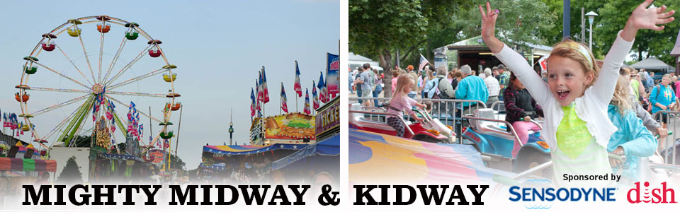 Midway at MN State Fair