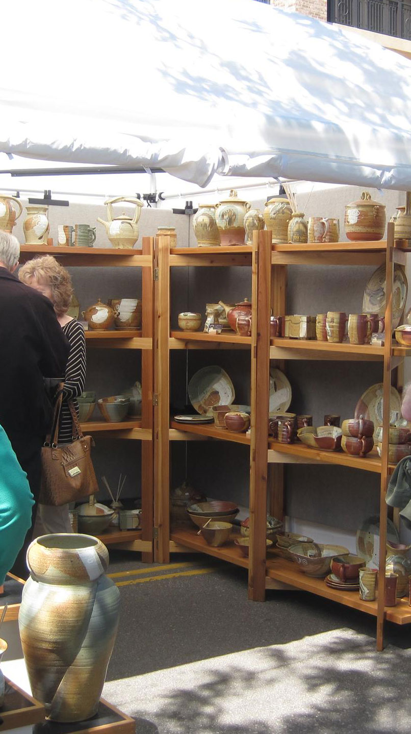 Pottery at Edina Art Fair
