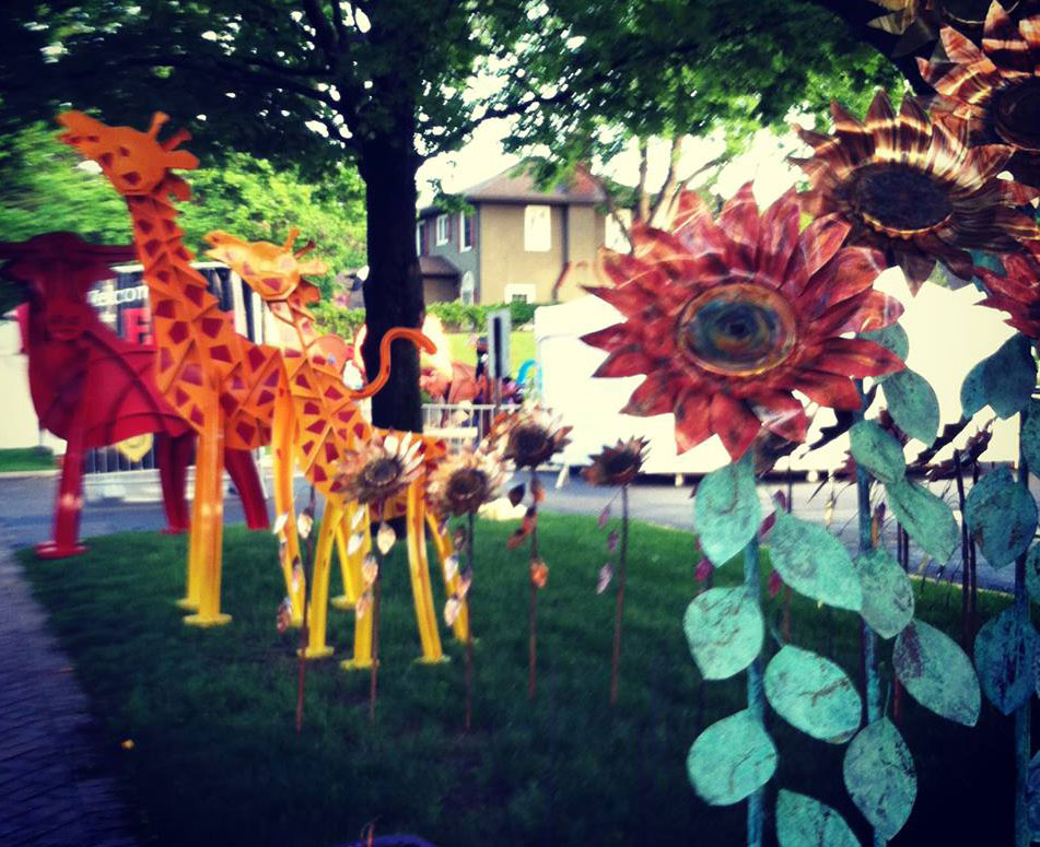 Yard Art at Edina Art Fair