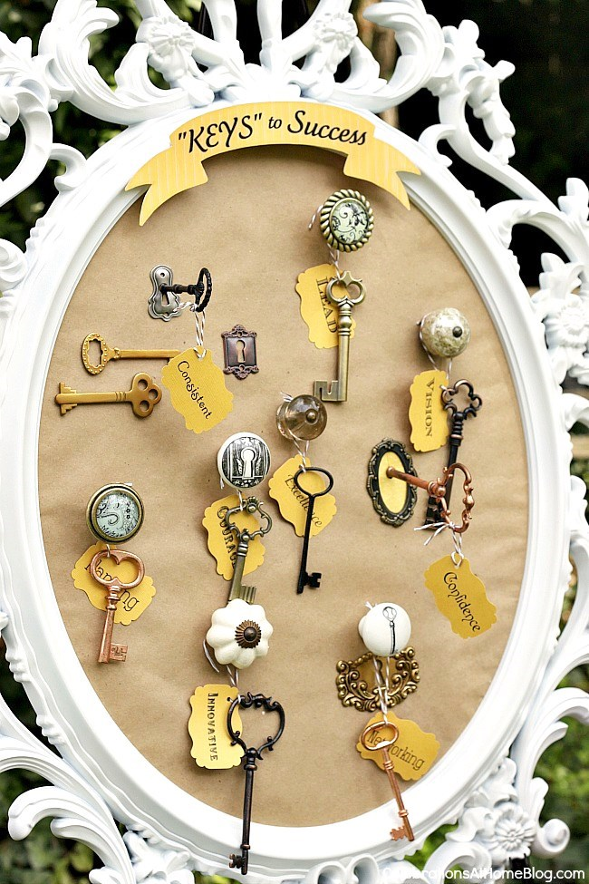 Keys to success grad party theme