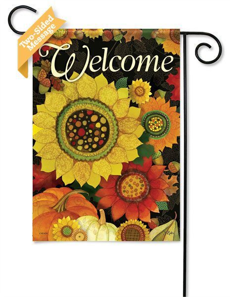 Autumn Sunflower outdoor garden flags