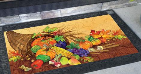 Boutiful Harvest Doormat