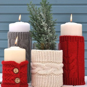Christmas Sweater Candles