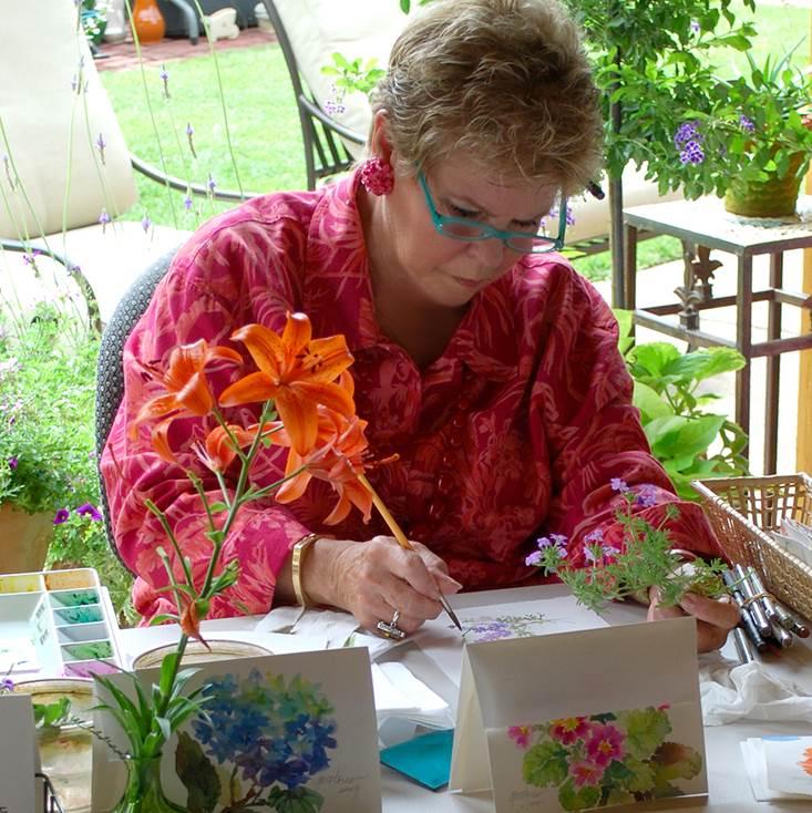 Artist Gail Flores