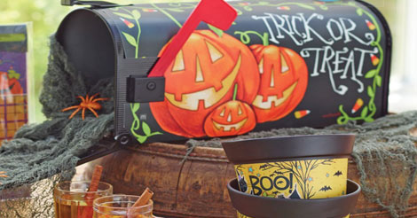 halloween mailbox covers make great halloween decorations - Great Halloween Decorations