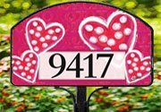 Valentine Wishes Home Address Sign