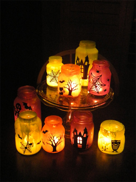 DIY Luminaries Halloween Decorations