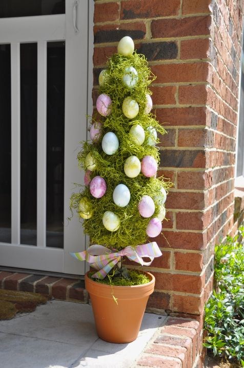 Easter egg topiary Eater decoration