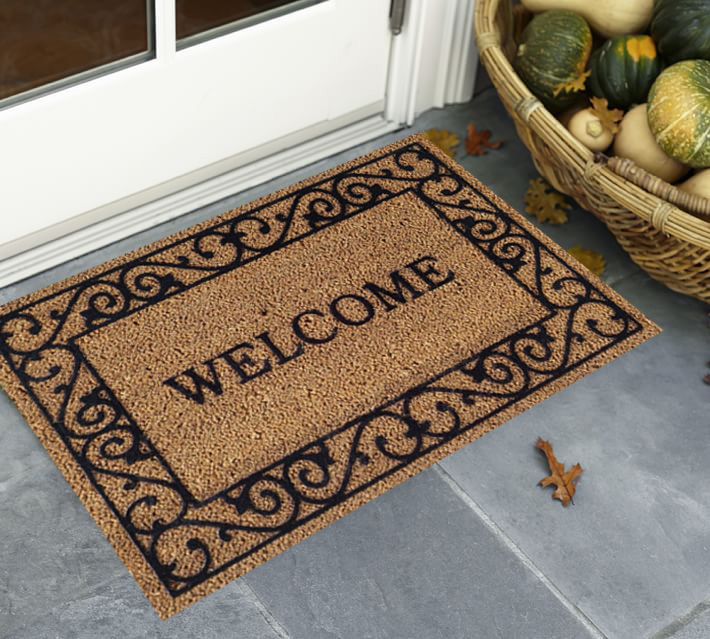 Welcome Coir Fall Door Mats