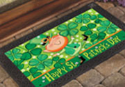 Leprechaun doormat St. Patrick's Day decorations