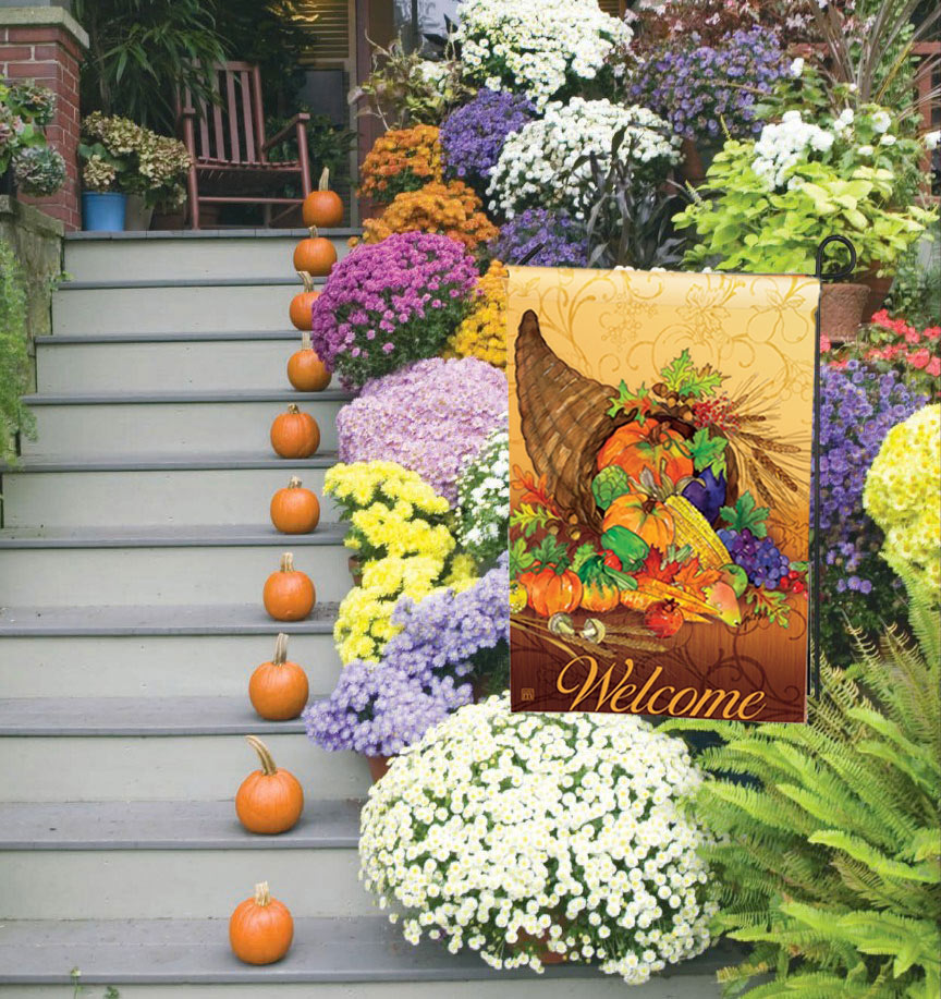 Bountiful Harvest Decorative Garden Flags